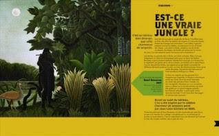 """Extrait du livre d'Alain Korkos """"Est-ce une vrai jungle ?"""" (tableau d'Henri Rousseau)"""