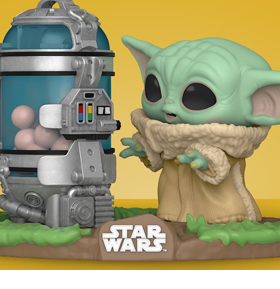 Pop! Deluxe: The Mandalorian - The Child with Canister
