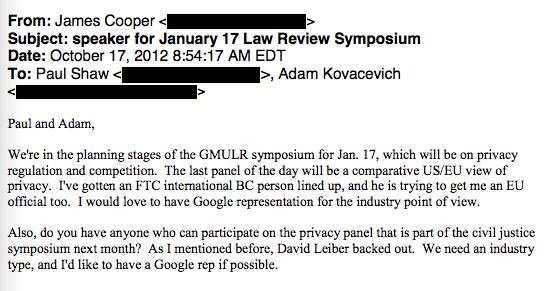 GMU email 2