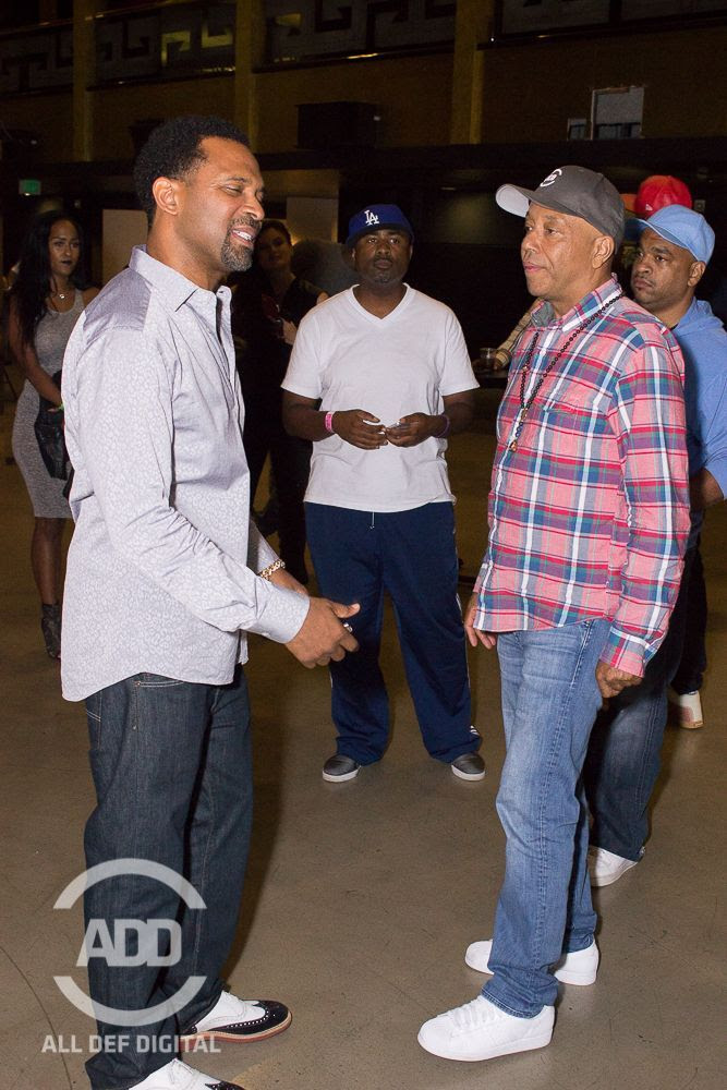 Mike Epps Russell Simmons