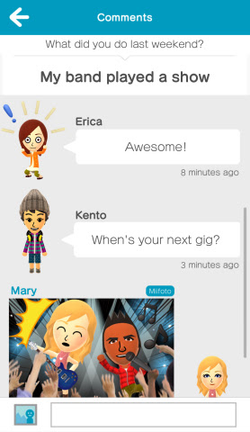Miitomo is a free-to-start social experience that lets you spark conversations with your friends in  ...