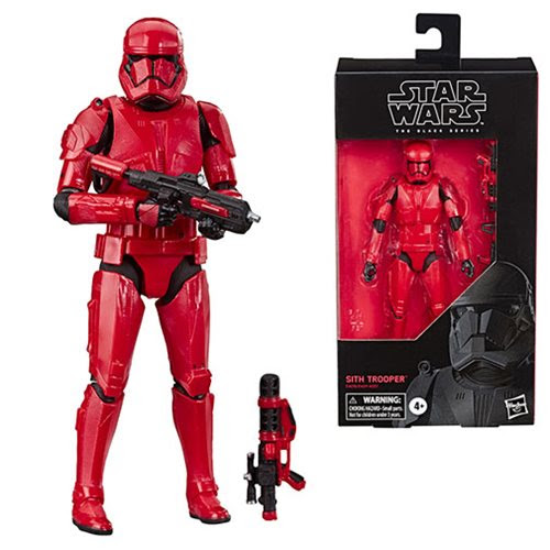 Image of Star Wars: The Rise of Skywalker The Black Series Sith Trooper 6-Inch Action Figure - SEPTEMBER 2019