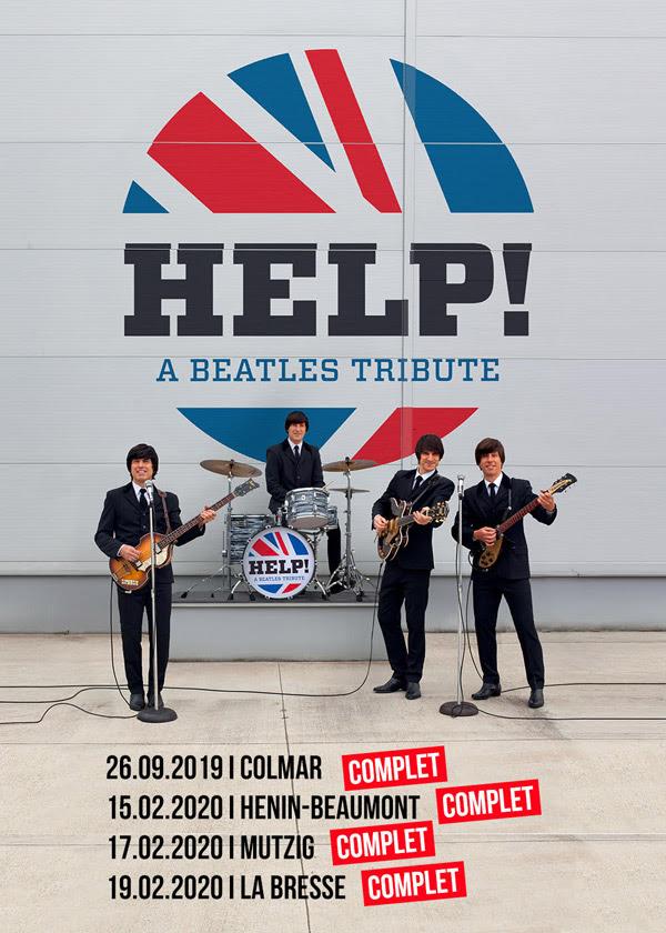 Help! A Beatles Tribute (USA/SLO) en tournée et disponible