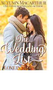 The Wedding List by Autumn Macarthur
