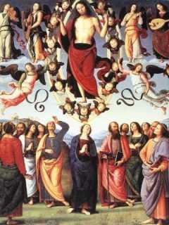 Perugino: Wniebowstąpienie Chrystusa