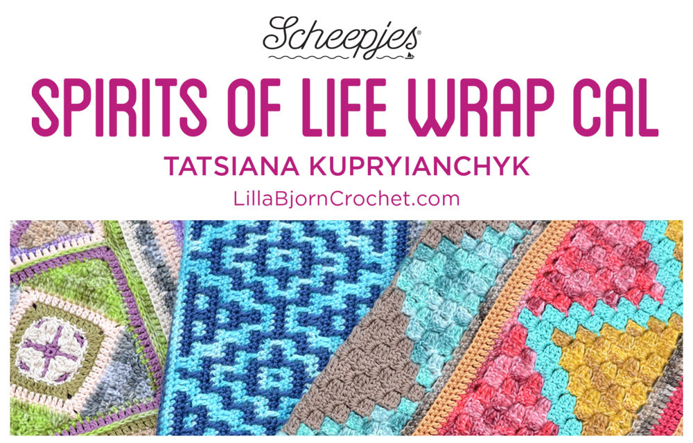 Scheepjes presenteert Spirits of Life Wrap CAL by Lillabjorn Crochet