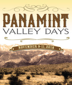 Panamint Valley Days will be November 9-11, 2018