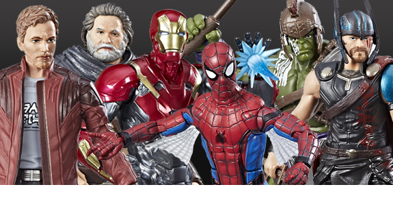 MARVEL LEGENDS HOMECOMING, THOR, & GOTG VOL. 2