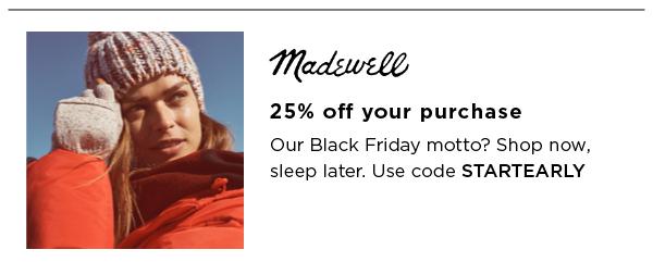 Madewell Best Black Friday Sales