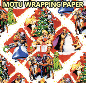 MASTERS OF THE UNIVERSE POWER-CON WRAPPING PAPER