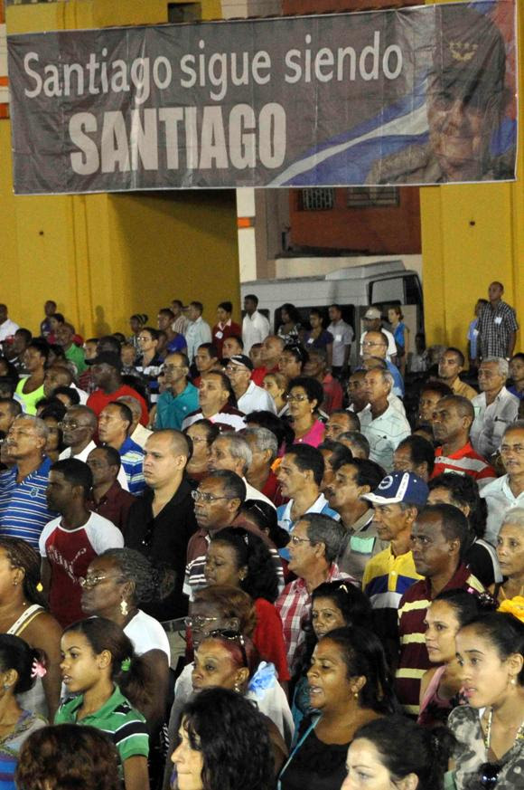 SANTIAGO DE CUBA-ACTO CENTRAL POR EL DIA DE LA REBELDIA NACIONAL 3