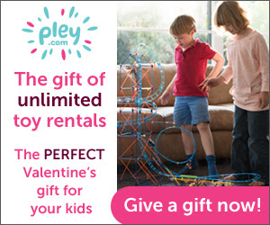 Pley is the perfect Valentine's Day Gift