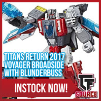 Transformers News: TFsource News! Last Knight, FH Gun Fighter, MMC Carnifex, Dicamus, TR Wave 4, Broadside & More!