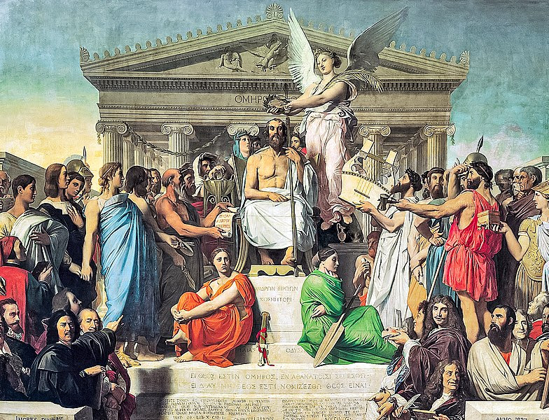 Plik:Jean Auguste Dominique Ingres, Apotheosis of Homer, 1827.jpg
