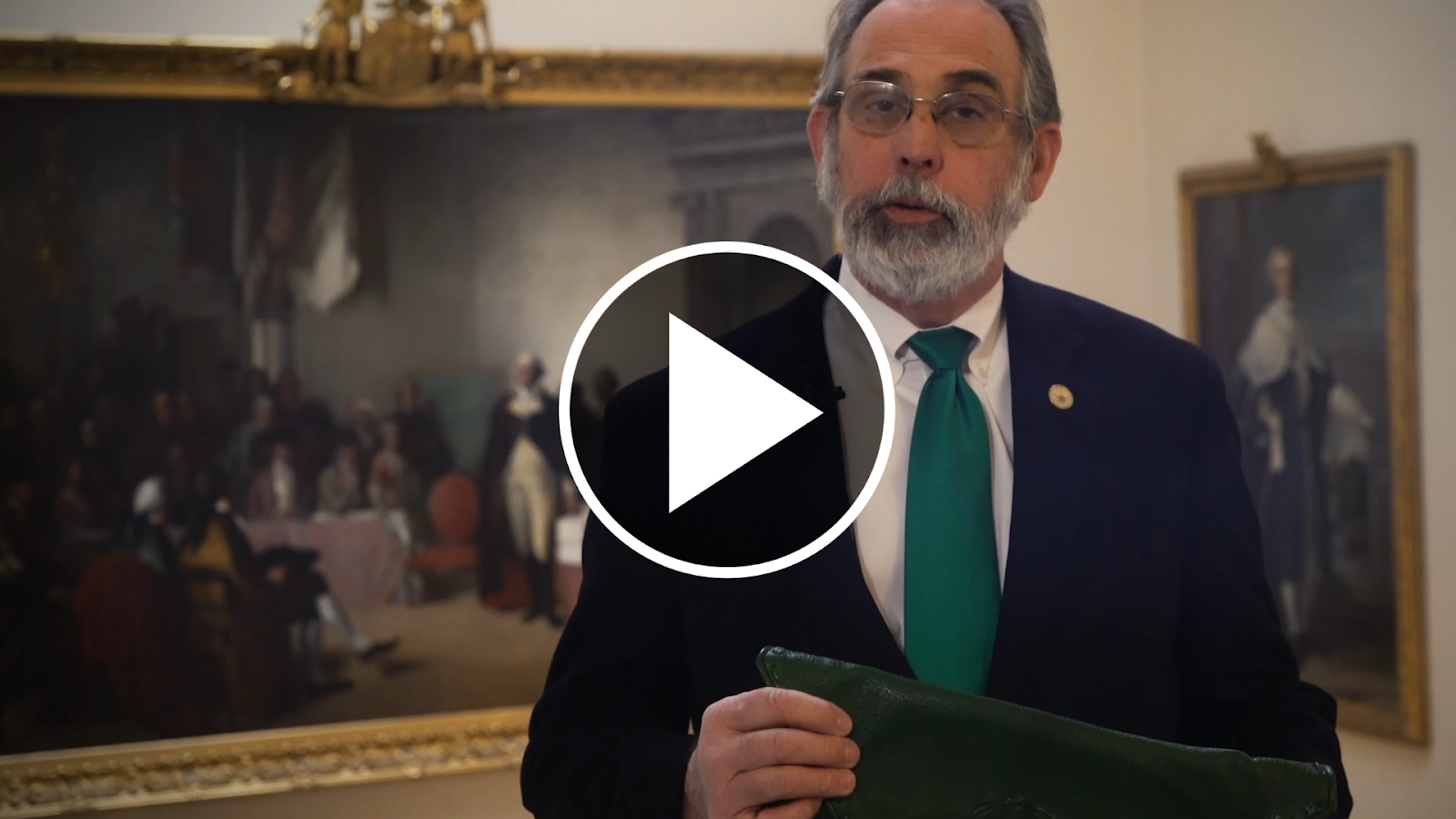 Secretary Cavey and Governor Hogan announce green bag appointments in a video
