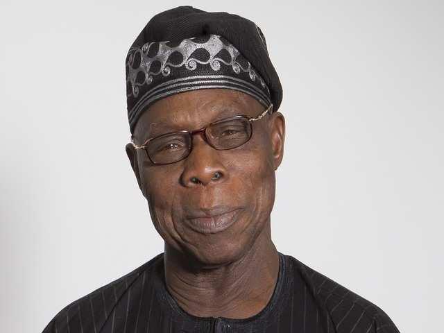 Olusegun Obasanjo - Former President of Nigeria (1999-2007), former military ruler (1976-79)