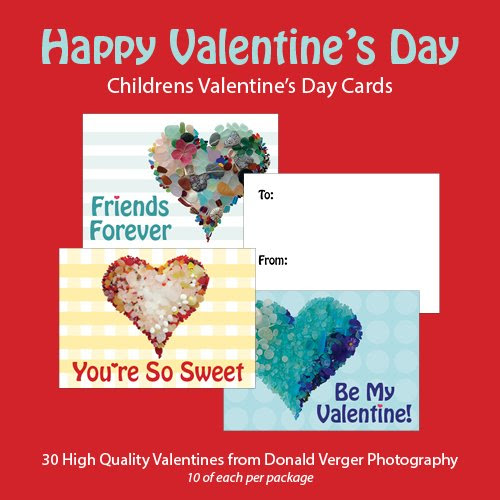 Children's valentine cards