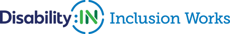 Disability:IN Inclusion Works logo
