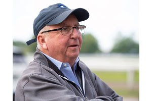 Trainer Shug McGaughey