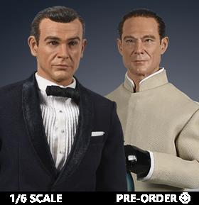 JAMES BOND & DR. NO 1/6 SCALE FIGURES