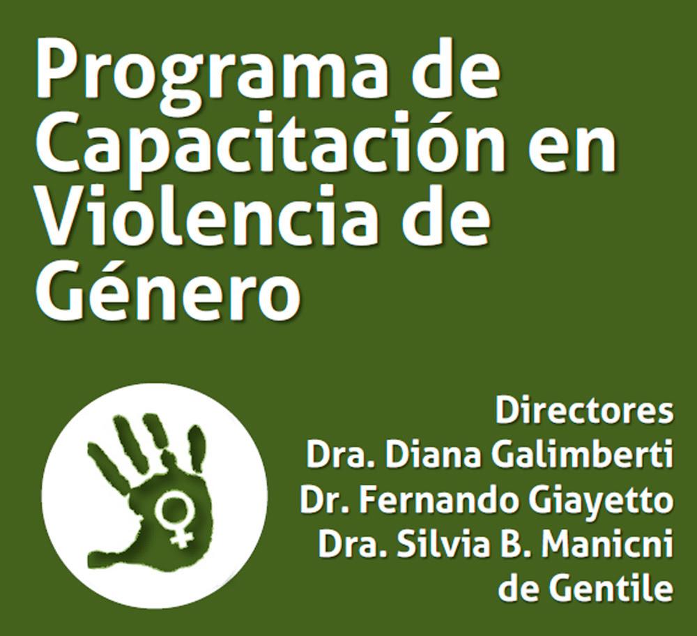 Programa Violencia de Género