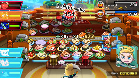The Sushi Striker: The Way of Sushido for Nintendo Switch and 3DS