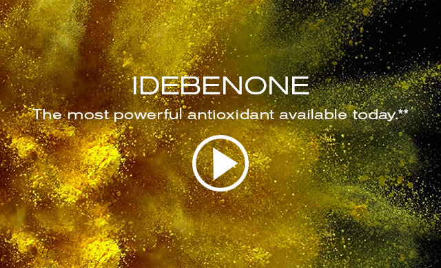 IDEBENONE  The most powerful antioxidant available today.**