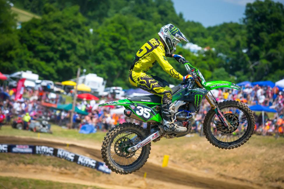 Forkner earned his first overall podium result of 2018 in second.