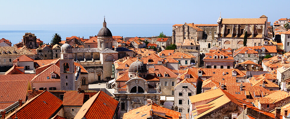 Dubrovnik's view of the port