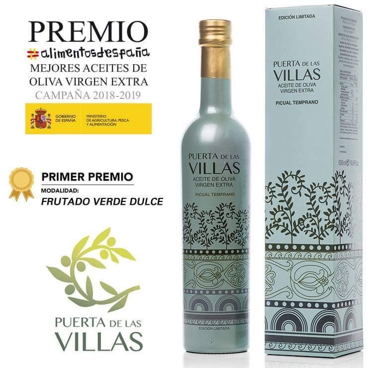 Puerta de Las Villas Premio Alimentos de España 2018/19
