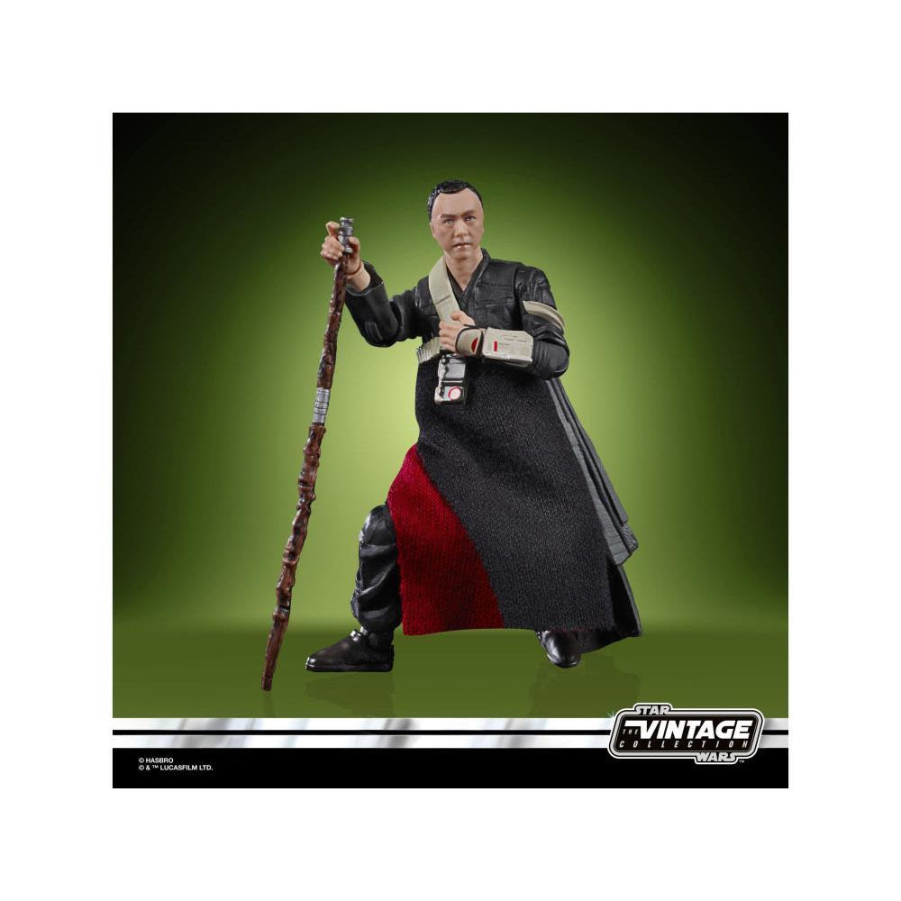Image of Star Wars The Vintage Collection Chirrut Imwe 3 3/4-Inch Action Figure - SEPTEMBER 2020