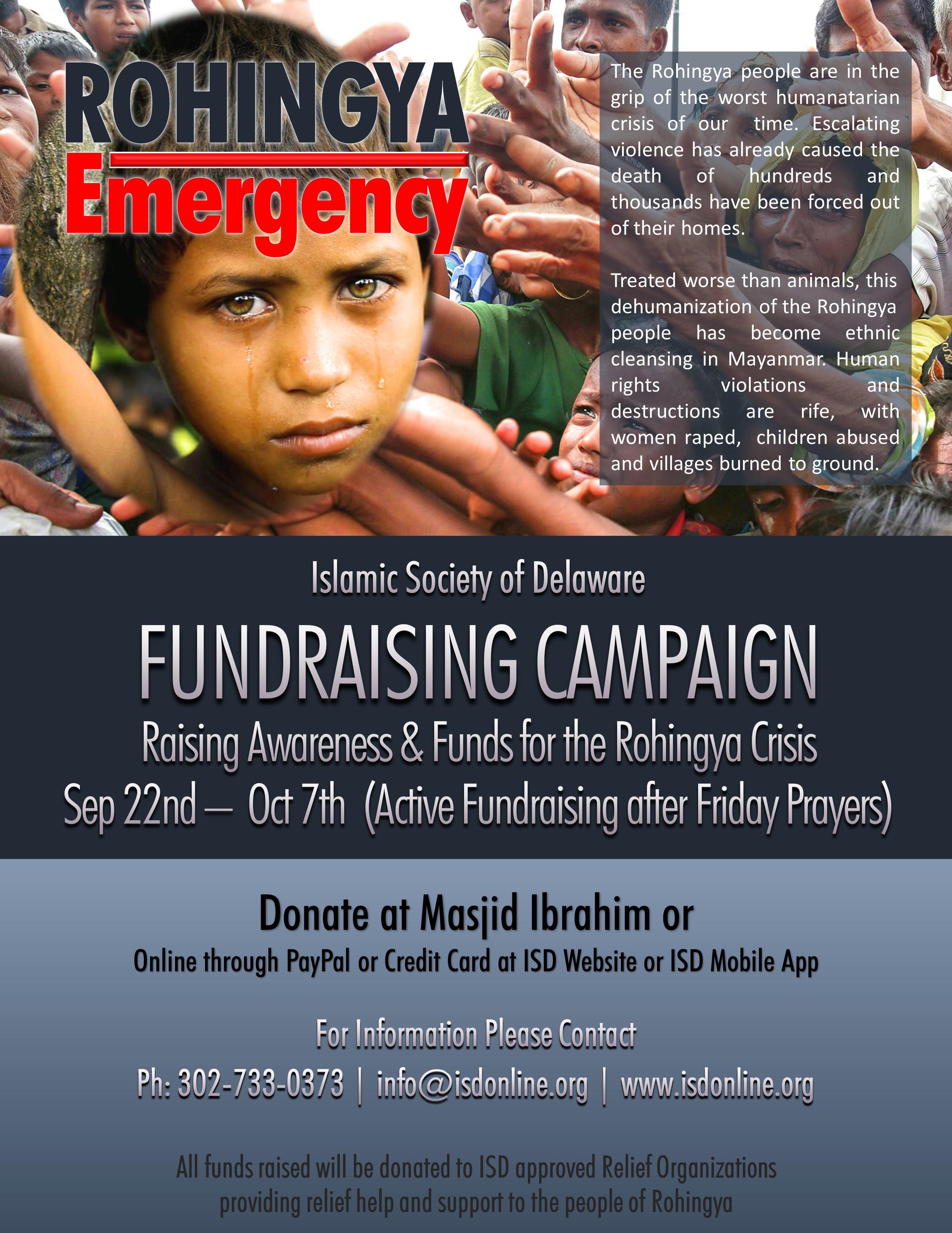 RohingyaFundraiser