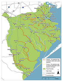Oyster Creek TMDL Stakeholder Meeting @ Brazoria County Library-Lake Jackson Branch | Lake Jackson | Texas | United States