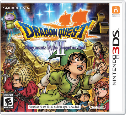 During PAX West, the producer of Dragon Quest VII: Fragments of the Forgotten Past from Square Enix  ...