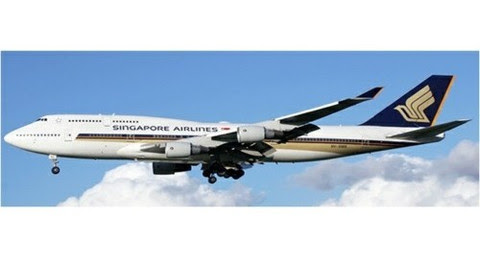 Boeing 747-400 Singapore Airlines 9V-SMS | is due: August 2019