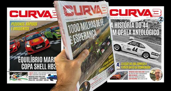 Terceira edição da revista Curva3 circula neste fim de semana (Curva3/Pedro Hiraoka)