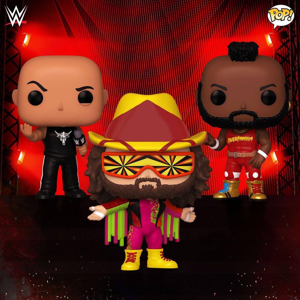 Image of Funko Pop! WWE Icons Bundle of 3