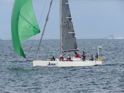 J/122 JOSS winning Fremantle, Western Australia regatta