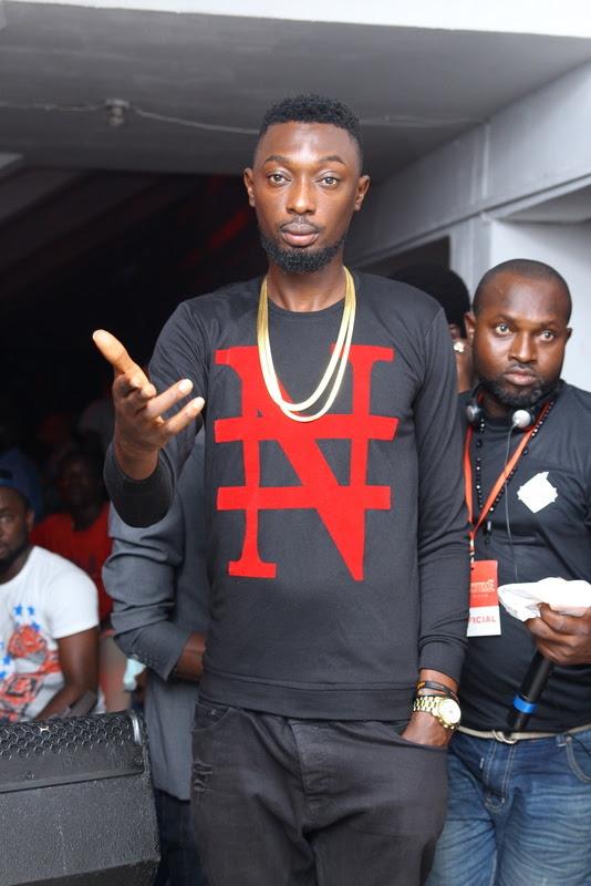 Naija Ninja rapper  Karma