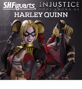 INJUSTICE - S.H. FIGUARTS HARLEY QUINN