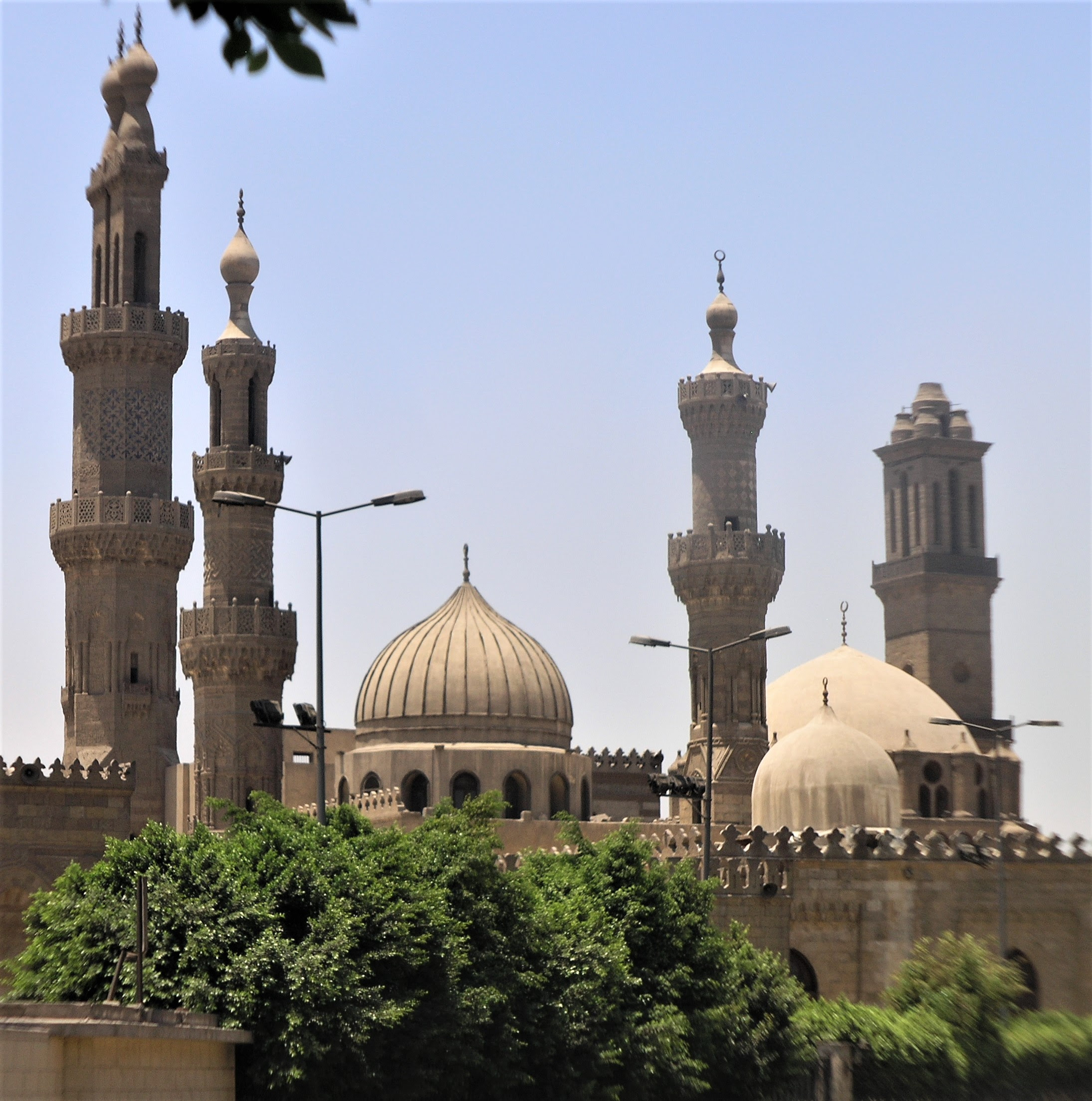 Al-Azhar Mosque in Cairo, Egypt. (Wikipedia, Daniel Mayer)