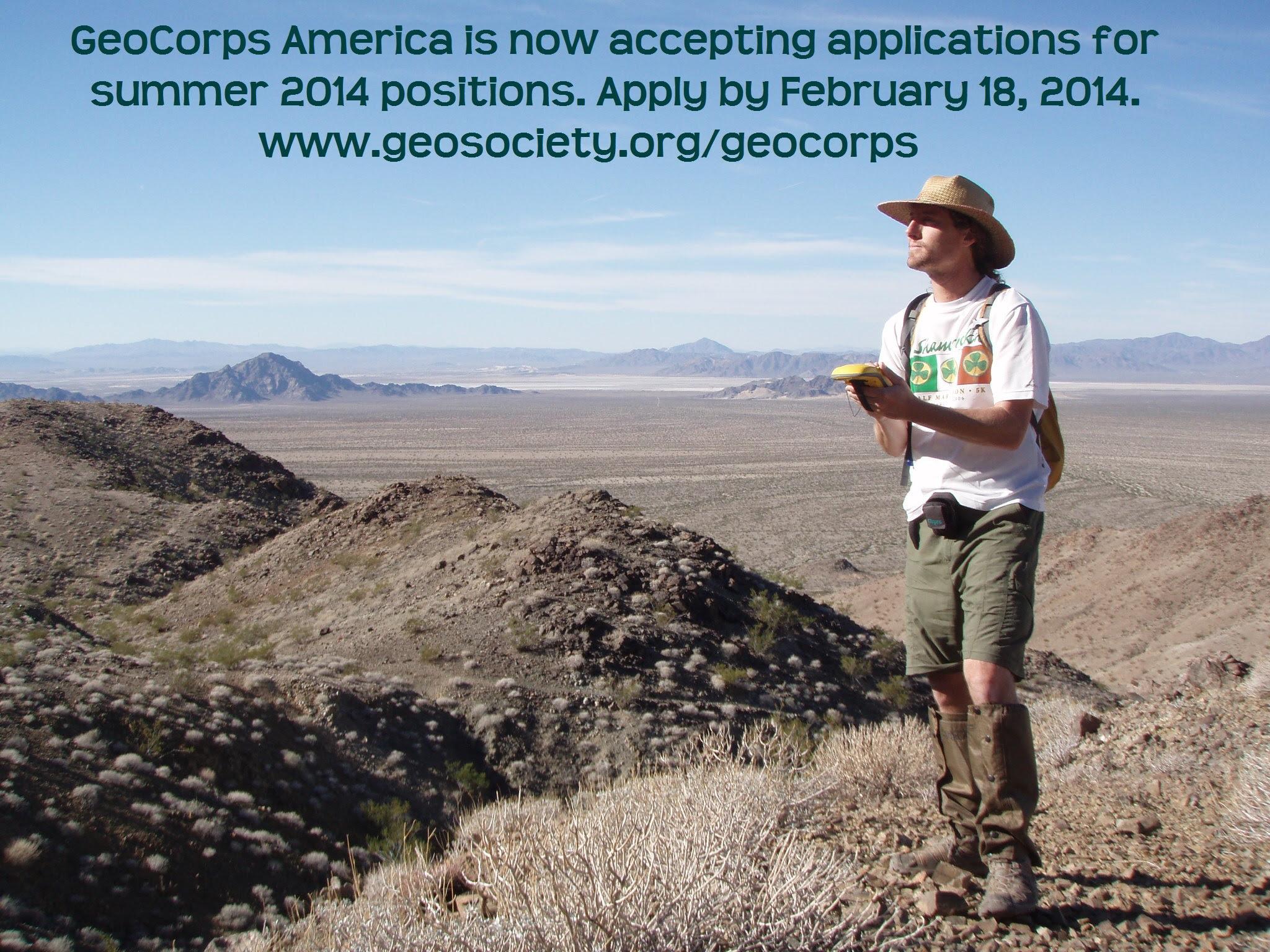 Sean McCartney, GeoCorps, 2012-2013, California Abandoned Mine Lands Program