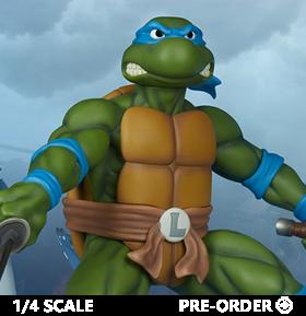 Teenage Mutant Ninja Turtles Leonardo 1/4 Scale Statue