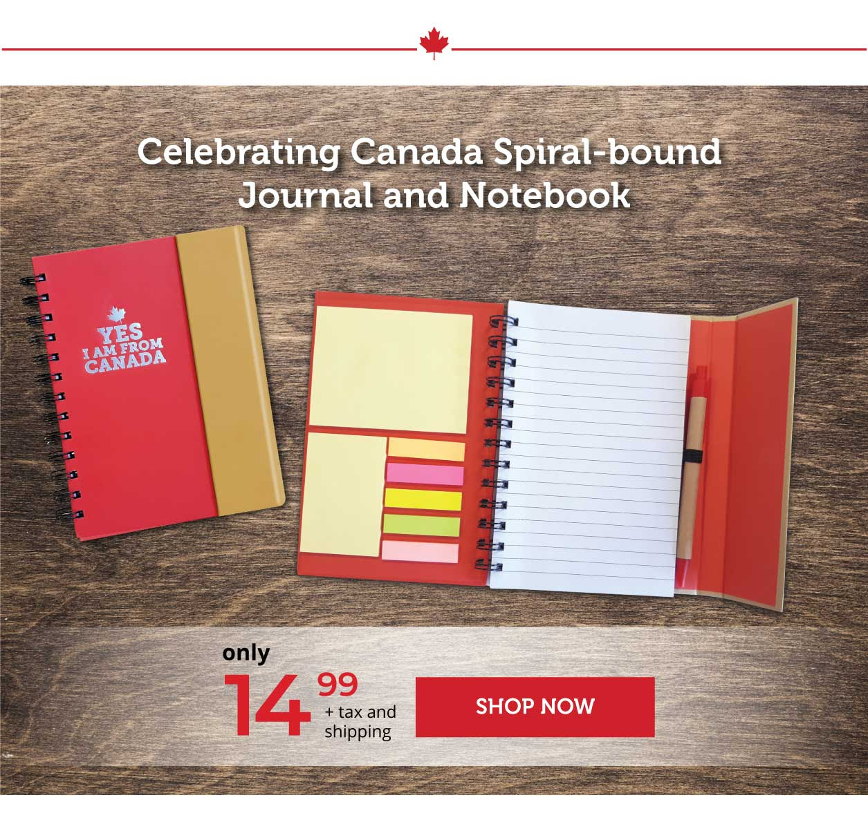 Celebrating Canada Journal