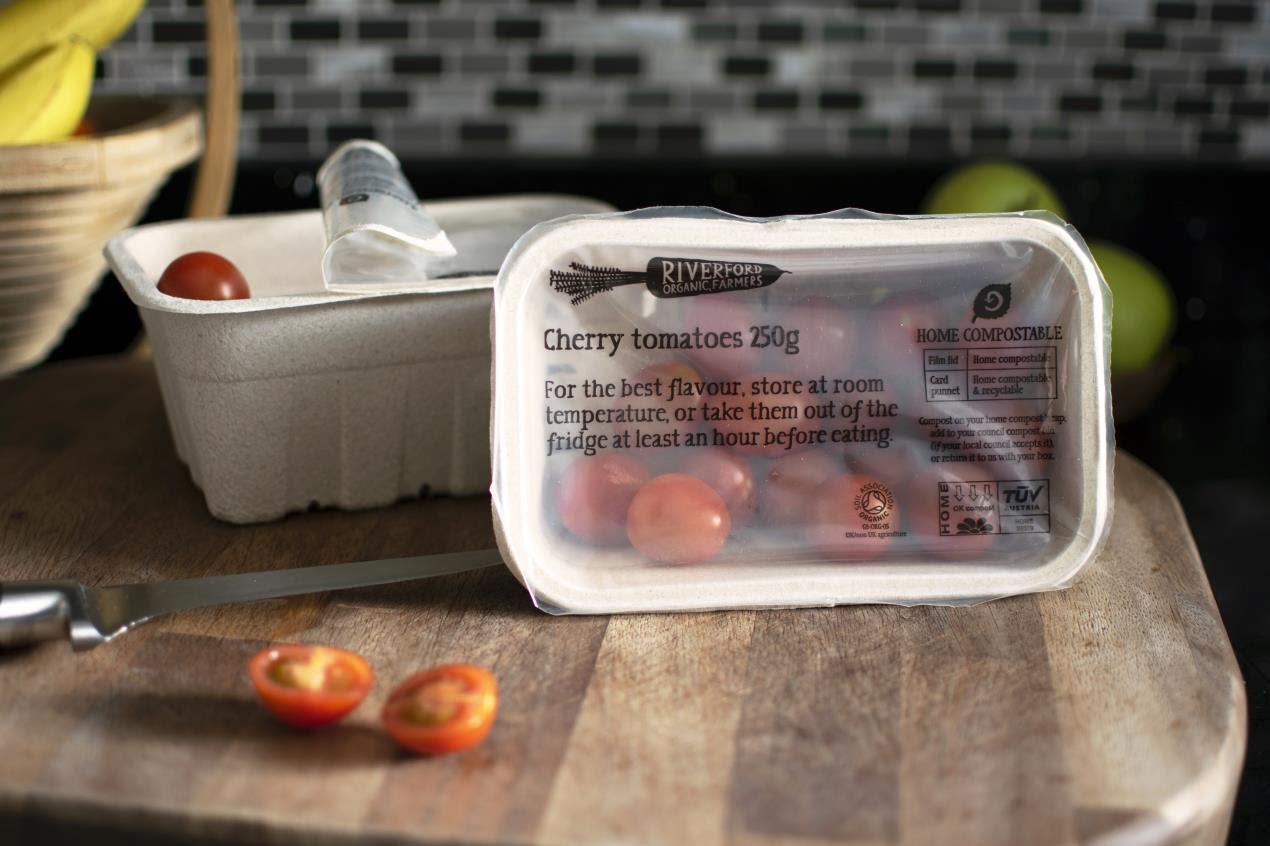 Riverford Compostable Tomato Lidding