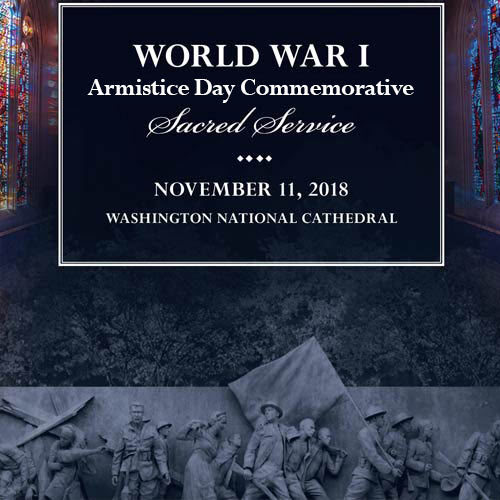 WWI Armistice Day Commemorative Sacred Service 2019