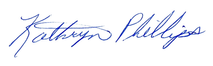 Kathryn Phillips Signature