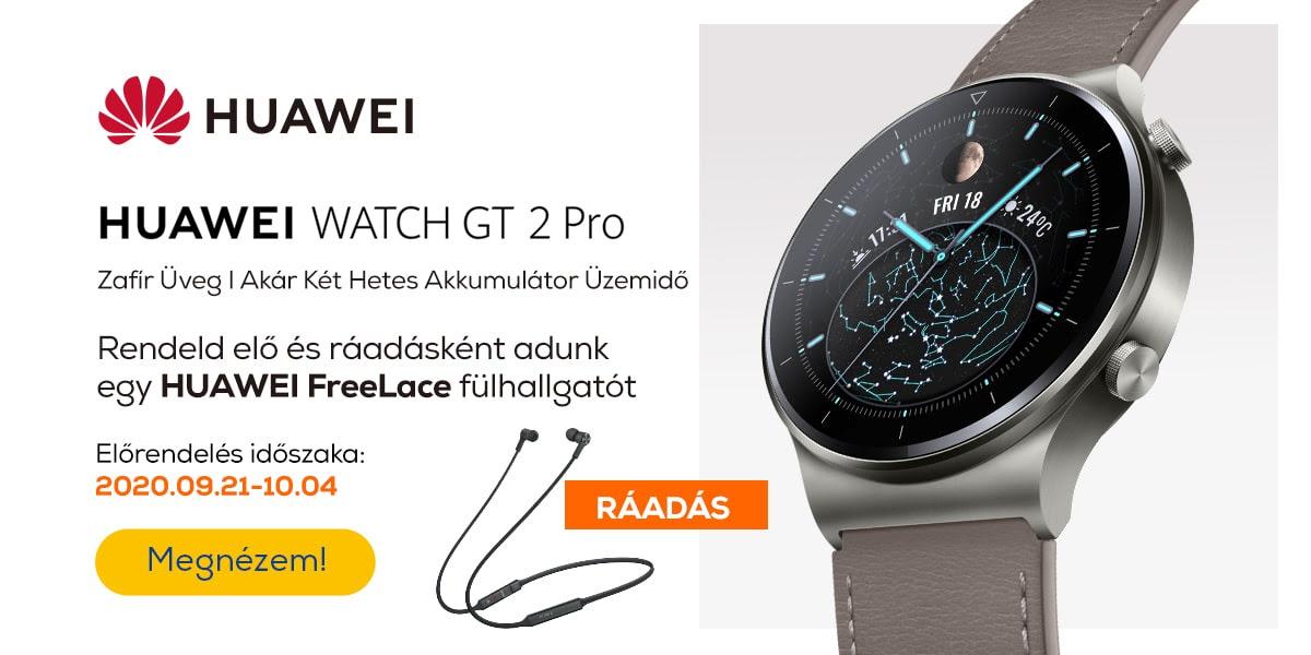 Rendeld elő a Huawei Watch GT 2 Pro-t!