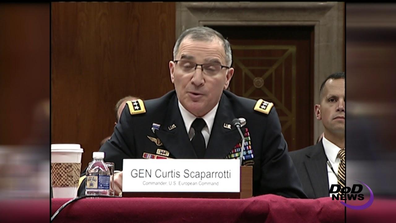 Scaparrotti Testifies on European Reassurance