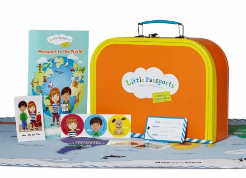 Little Passports Early Explorers Subscription Preschoolers